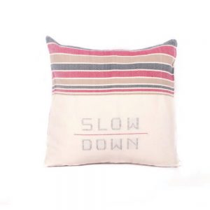 whitelightelements cushioncover Slow down